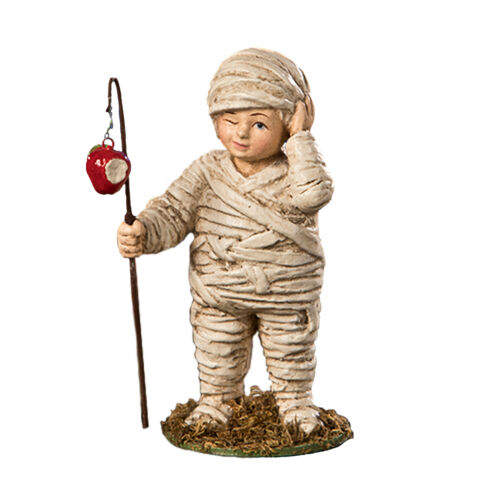 Bethany Lowe Murry Mummy Child Boy Cute Halloween Retro Classic Figurine Decor