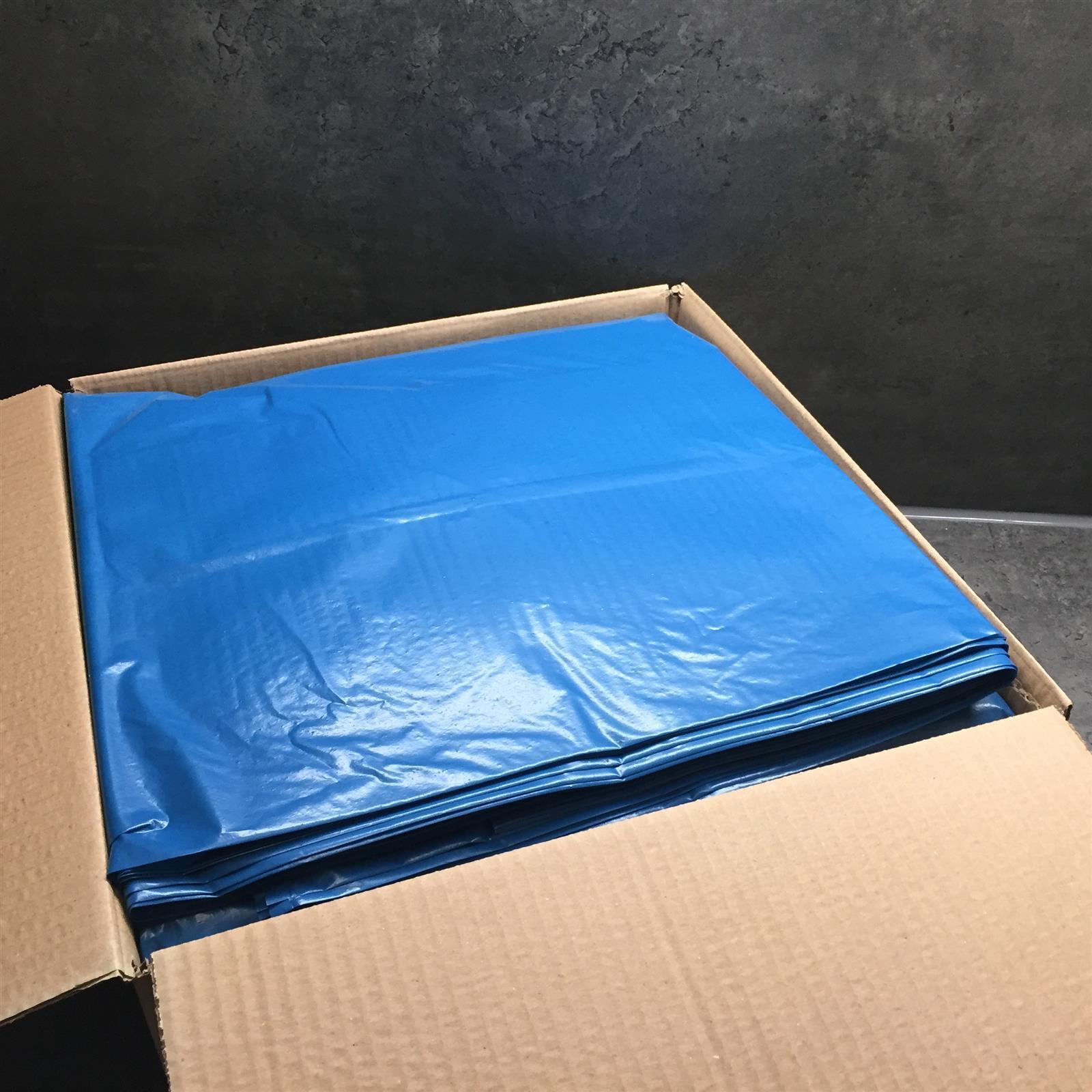 100 Stk Müllbeutel Müllsack extra stark Müllsäcke 240 Liter 550x650x1350 blau