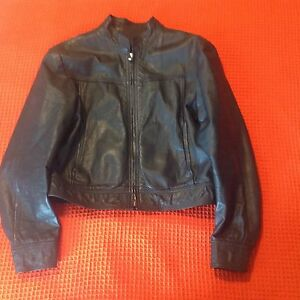 Women's Custom Made Leather Jacket Size 6-8 Edensor Park Fairfield Area Preview