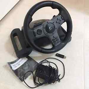 Logitech steering wheel -PS2/3 Edgeworth Lake Macquarie Area Preview