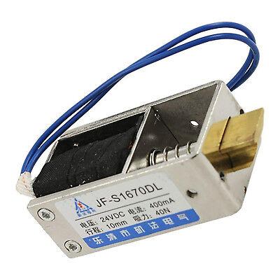 Dc 12v24v 460ma 1kg 10n10mm Pull Type Open Frame Solenoid Electromagnet