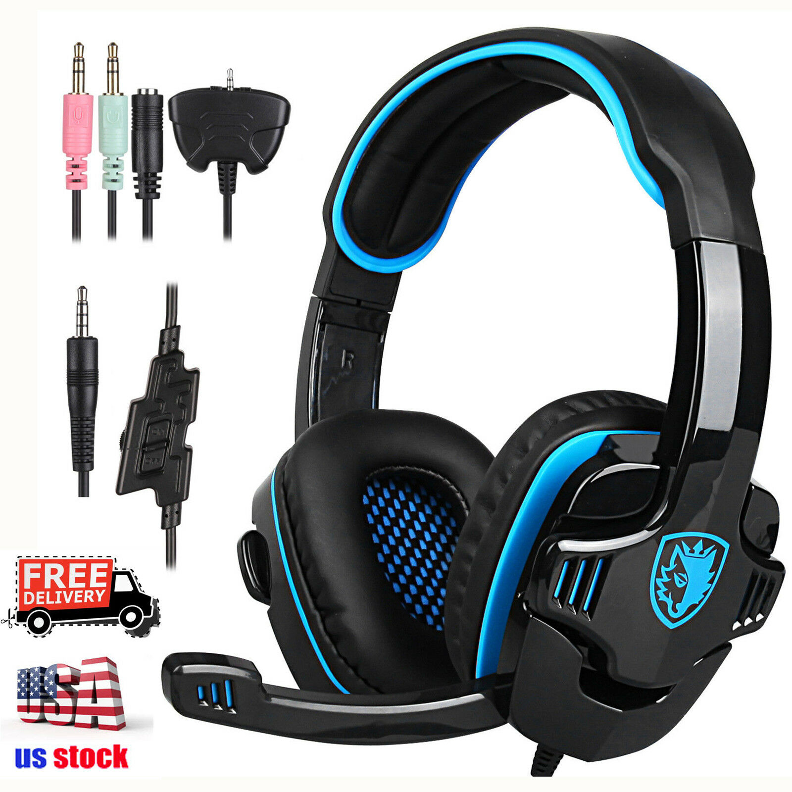 sa 708 gt gaming headset headphone