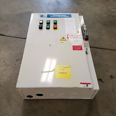General Electric 561000878929 Cr243b10455 System Main Disconnect Panel 125amp