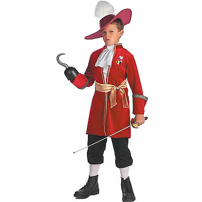 Captain Hook - Disney's Peter Pan Child - Peter Pan Costume For Boy