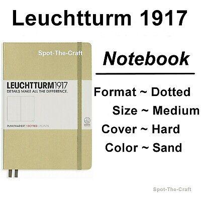 Leuchtturm1917 Dotted Journal Notebook Medium A5 Sand 354594