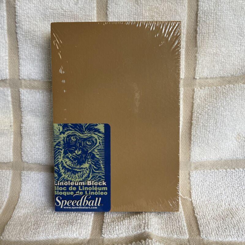 Speedball Linoleum Block, 4x6 inches