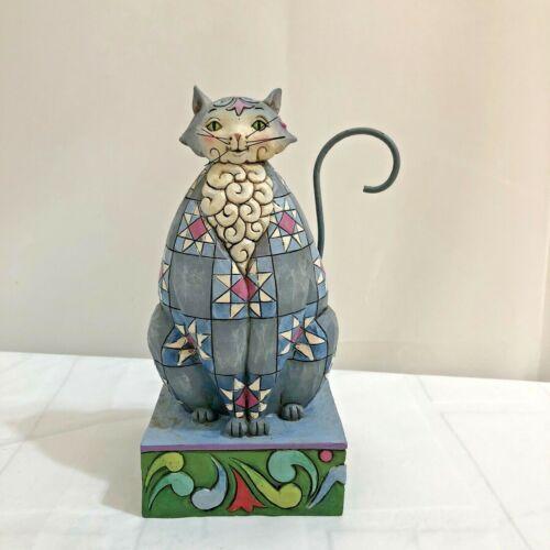 Jim Shore Heartwood Creek Knightly Cat Figurine 2011 Enesco 4025834 Meow