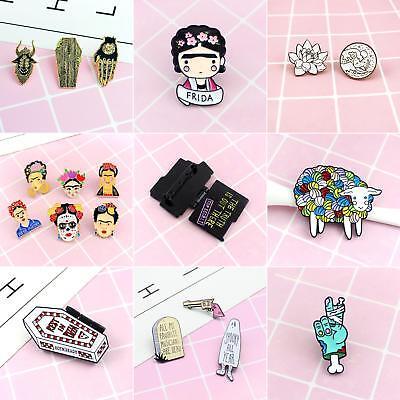 Charm Halloween Badge Unisex Fabric Decor Enamel Brooch Pin Jewelry Gift New Tre
