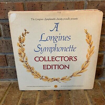 A LONGINES SYMPHONETTE COLLECTOR'S EDITION  STEREO LP 33RPM GOLD MEDAL RECORDING
