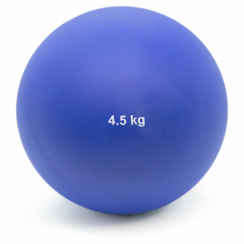 4.5Kg (9.9lbs) Indoor Shot Put Ball for Training, Practice, Indoor Track & Field