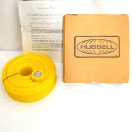 Hubbell Cord Keeper Sleeve 50 Ft Woven Mesh New