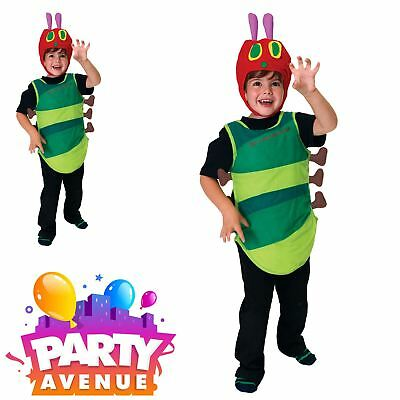 The Very Hungry Caterpillar Tabard Girls Boys Book Week Fancy Dress Costume - The Hungry Caterpillar Costume