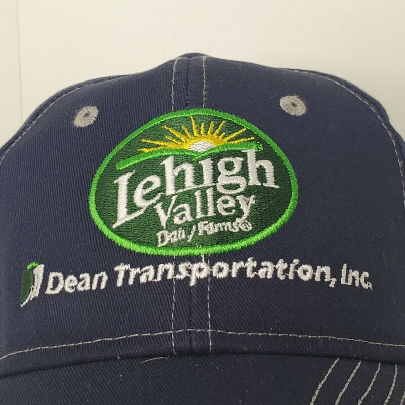 Vintage Lehigh Valley Dairy Farms EMPLOYEE BASEBALL CAP HAT Dean Transportation