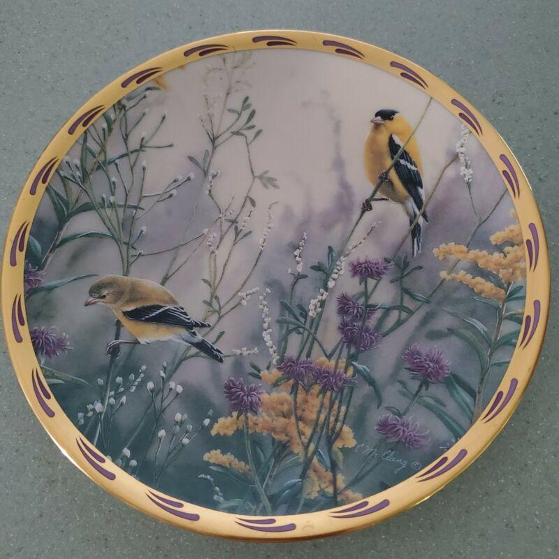 Lenox GOLDEN SPLENDOR Plate, Catherine McClung, Nature