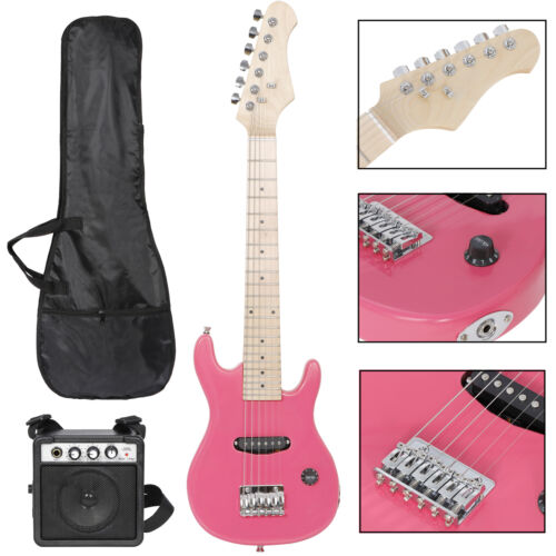 """30"""" children's Practice electric Guitar 6 String kids Musical Instruments toys Electric Guitars"""
