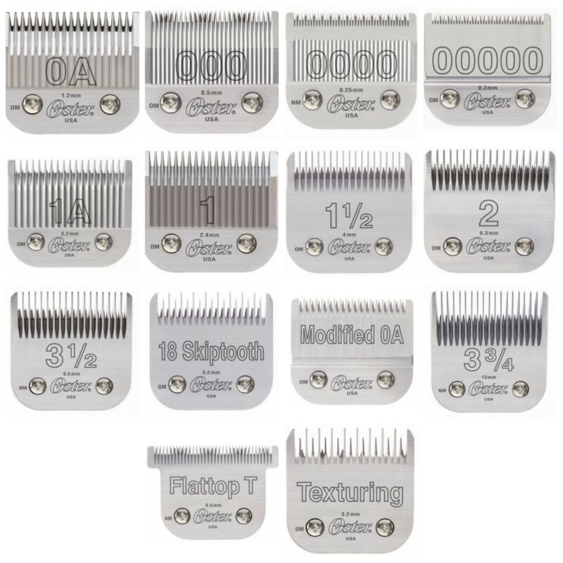 Oster 76 Replacement Clipper Blades - Fits 76, Pwrline, Model 10, Titan, Octane