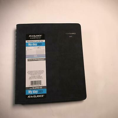 2021 Daily Appointment Book Planner By At-a-glance 6-12 X 8-34 Medium