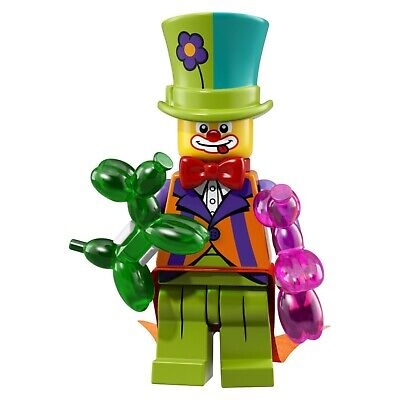 NEW LEGO  MINIFIGURE​​S SERIES 18 - Classic Party Clown Balloon Animals Top Hat