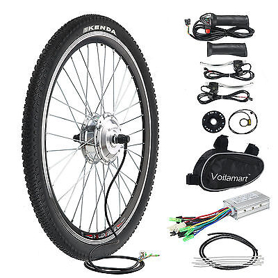 "Electric Bicycle Conversion Kit E Bike 36V 250W Motor Speed 26"" Front Wheel"