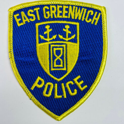 East Greenwich Police Rhode Island RI Patch (A3-B)