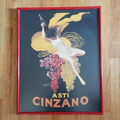 Vintage Asti Cinzano - Asti Spumante - Italian Sparkling White Wine Bar poster