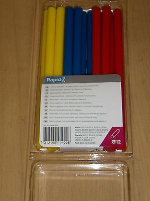 Baton de colle a chaud de couleur, diamètre12, lg 200mm, marque ROCAFIX 250 Gr.