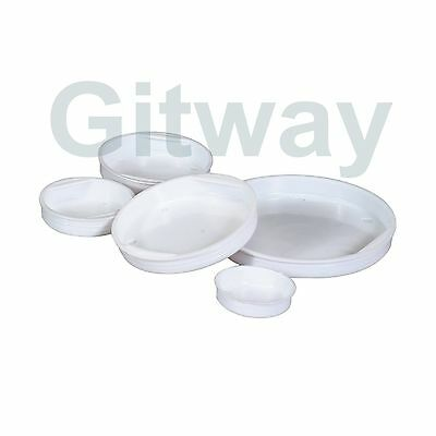 50 Of 2 White End Plastic Caps For Cardboard Shipping Mailing Mail Postal Tubes