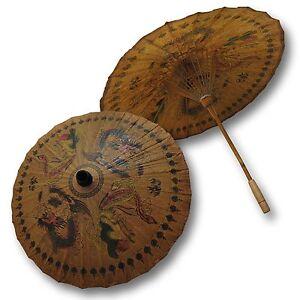 Sonnenschirm Asiaschirm Chinaschirm Drachenschirm Dekoschirm (80122)