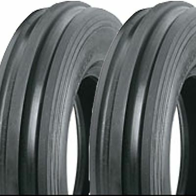 2 5.50-16 550-16 5.50x16 550x16 F-2 Tri 3 Rib Front Tractor Tires Ds5123 6pr