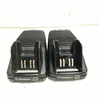 X2 - Motorola Ntn7209a 2-way Radio Chargerntn7209a Ntn1167 Aa16740 Ht1000 Mt2000