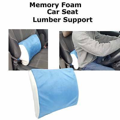 MEMORY FOAM SEAT CUSHION/LOWER BACK LUMBAR SUPPORT CAR/OFFICE/DESK