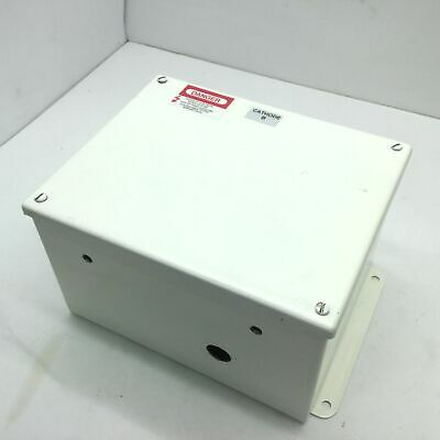 Hoffman A10086sc Screw Cover Electrical Steel Enclosure Box 10 X 8 X 6