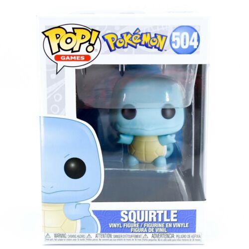 Brand New Squirtle Funko Pop Games Pokemon #504