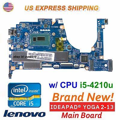 New Lenovo YOGA 2 13 20344 Intel CPU i5-4210U Laptop LA-A921P ZIVY0  Motherboard