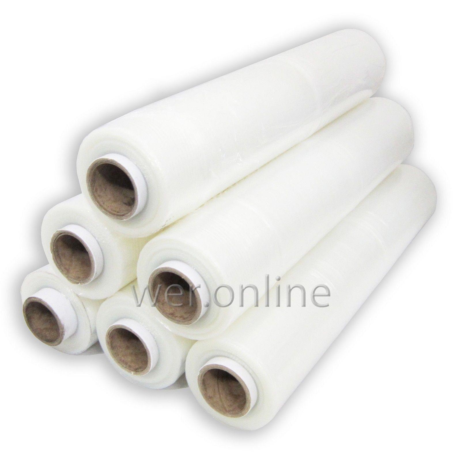 Stretchwrap Pallet Film Wrap Rolls 17/20/23/25/34Mu 400mm/500mm Shrink Wrap