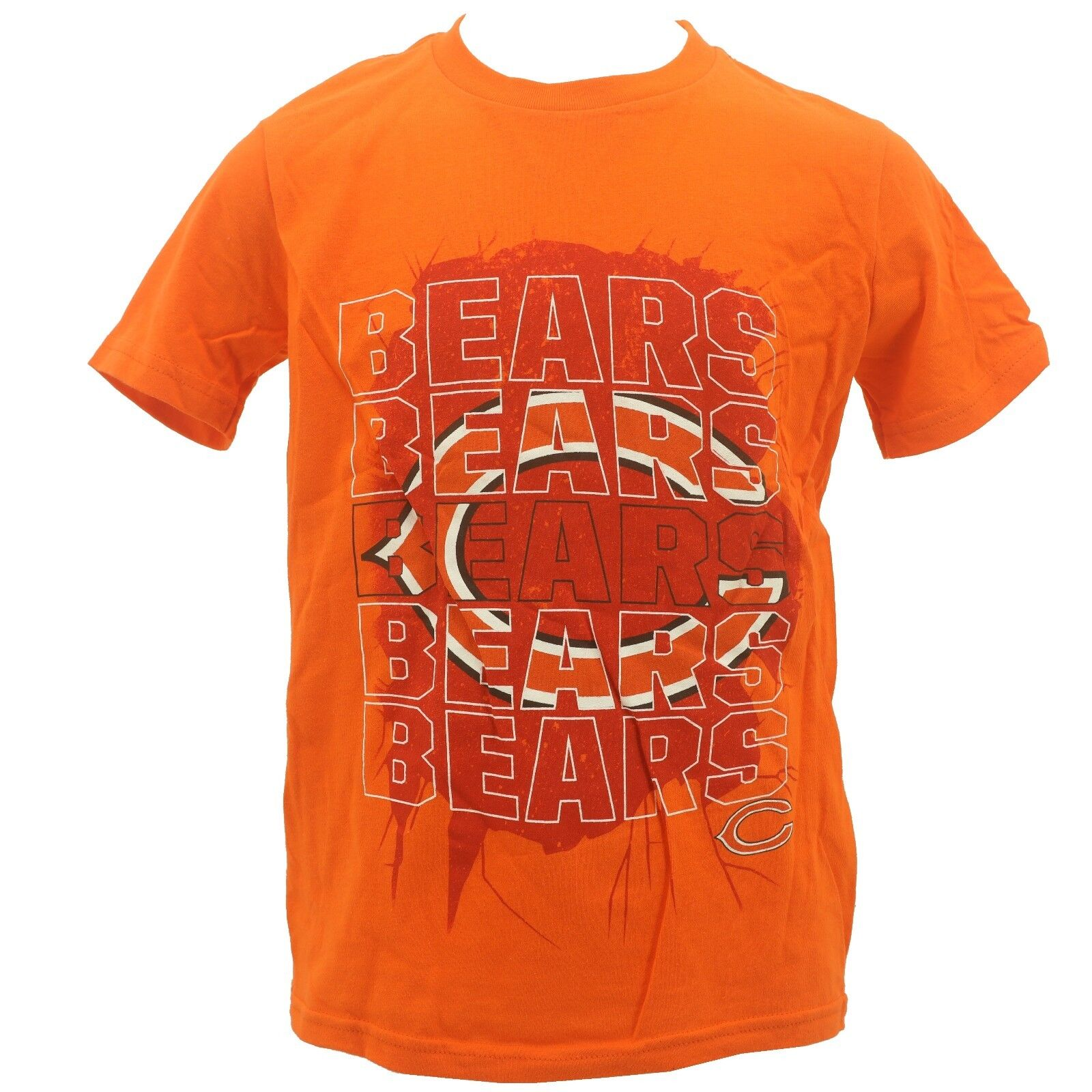 9dbc520a Details about NFL Chicago Bears Kids Youth Size Team Apparel Official  T-Shirt New With Tags