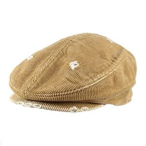 Mens Womens Unisex Warm Daily Casual Corduroy Cotton Newsboy Cabbie Cap Hat