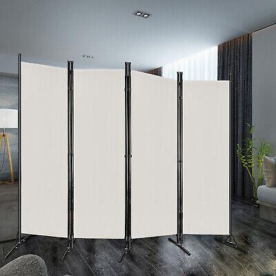 Paravent Sichtschutz Wand Spanische Beige Stellwand Raumteiler Trennwand 205cm