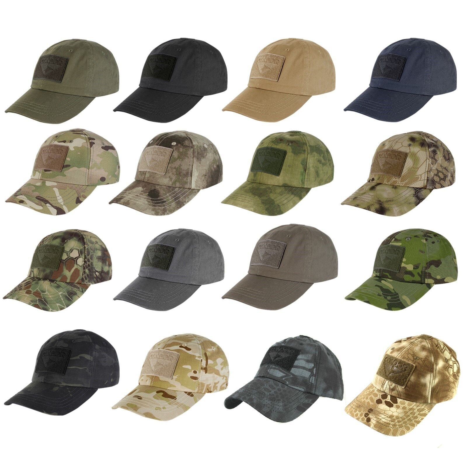 Condor TC Tactical Operator Baseball Style Military Hunting Hiking Patch  Cap Hat a50a2196cb8