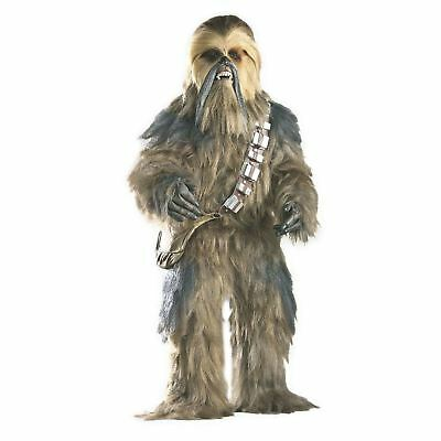Adult Men's Chewy Star Wars Chewbacca Collector Supreme Edition Costume M/L XL (Supreme Costume)