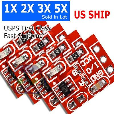 110 Pcs Ttp223 2.5-5.5v Capacitive Touch Switch Self Lock Module For Arduino