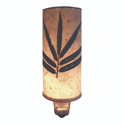 Artisan Made Natural Paper Nightlight - BAMBOO - EAG-625-A