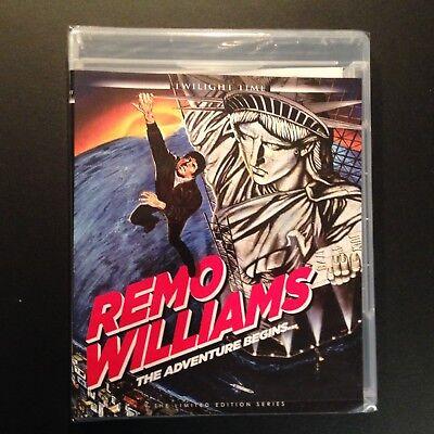 Remo Williams: The Adventure Begins (Blu-ray, Twilight Time, Guy Hamilton)