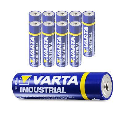 Varta AAA Micro Batterie LR03 1,5V 1200mAh Alkaline Industrial Quality v. Menge