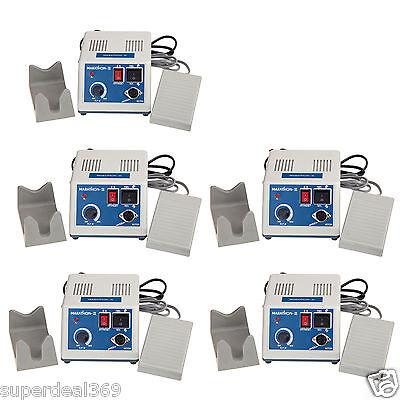 5 Sets Portable 35 000 Rpm Micromotor Dental Lab Marathon Polisher N3 Unit Nd