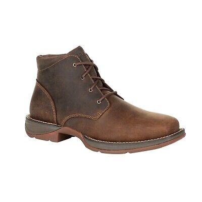 Durango Men's Red Dirt Rebel Plain-Toe Chukka Boots -