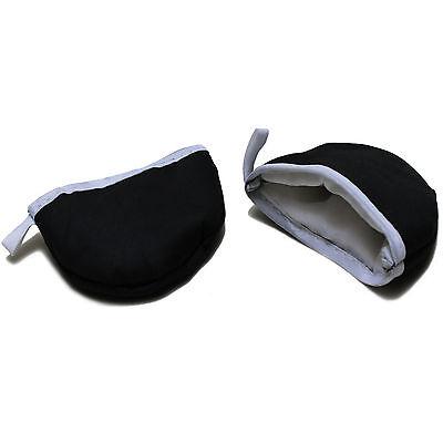 2 Thermo Griffhandschuhe Grips Topflappen Topfhandschuhe für Kochtopf Bräter - Topflappen
