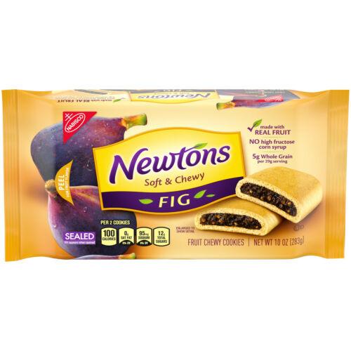 Newtons Soft & fruit Chewy Fig Cookies 10 oz Pack