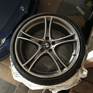 BMW  20 inch wheels with brand new tires