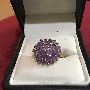 9ct Gold Amathist Ring Dalyellup Capel Area Preview